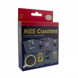 NINTENDO - Posavasos / NES Cartridge Coasters