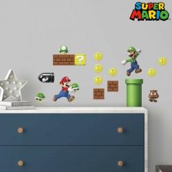 Vinilos para la pared de Super Mario ® Nintendo