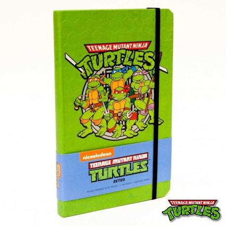Libreta Retro de Las Tortugas Ninja ®