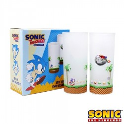 Pack de 2 Vasos Sonic & Eggman ® Sonic The Hedgehog
