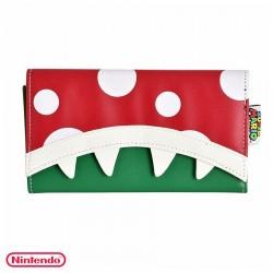 Cartera monedero de Planta Piraña ® Nintendo