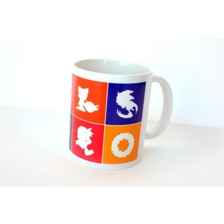 Taza Pixel-Sonic de 8 colores