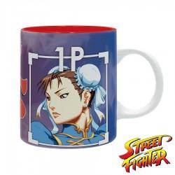 Taza de Street Fighter ® Chun-Li y M. Bison