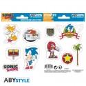 Pegatinas oficiales de Sonic The Hedgehog ®