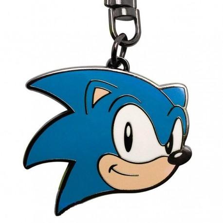 Llavero metálico de Sonic The Hedgehog ®