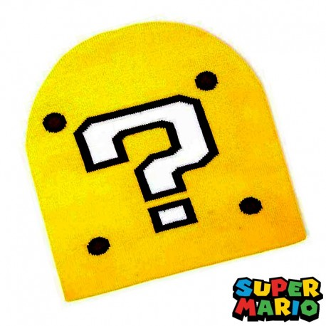 Gorro de lana Question Block | Super Mario Bros ®