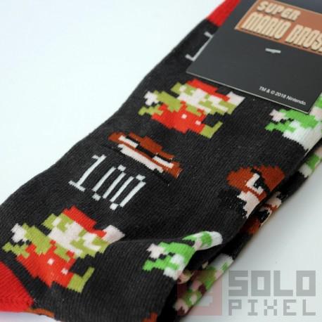 Calcetines oficiales de Super Mario Bros. | Nintendo ®