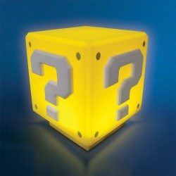 Lámpara mini de Super Mario ® Question Block Light