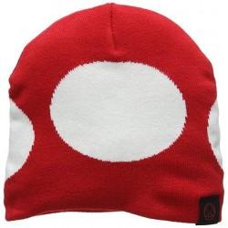 Gorro de lana Toad | Champiñón rojo de Super Mario Bros