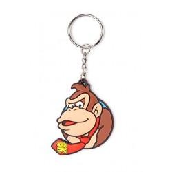 Llavero de caucho Nintendo ® Donkey Kong 6 cm