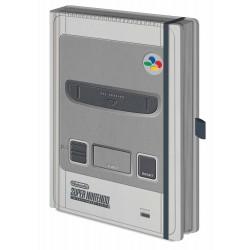 Libreta cuaderno de SNES en tamaño A5 Nintendo ®