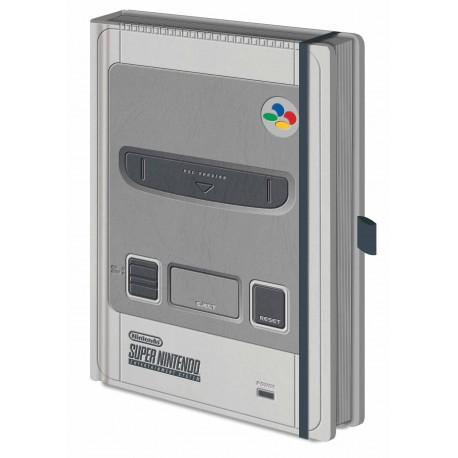 Nintendo Libreta Premium A5 SNES