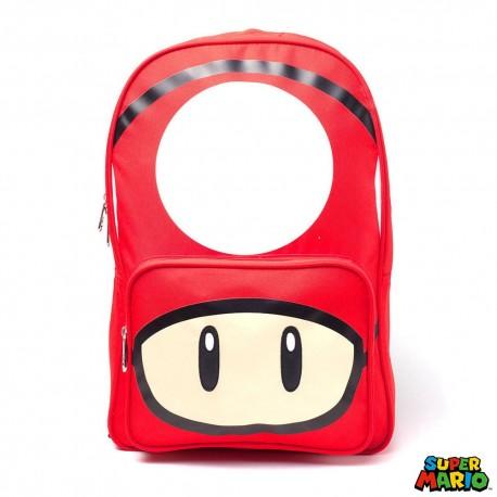 Nintendo Mochila Mushroom Placed Print