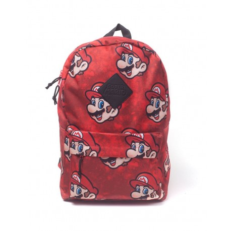 Nintendo Mochila Super Mario Sublimation