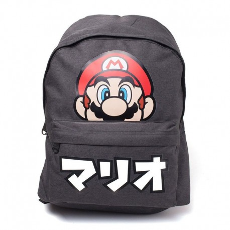 Nintendo Mochila Super Mario Japanese Text