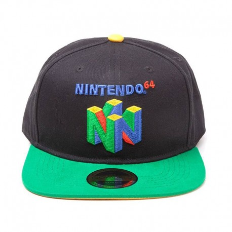 Nintendo | Gorra Snapback N64 Logo
