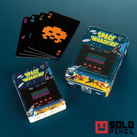 Baraja de cartas | SPACE INVADERS