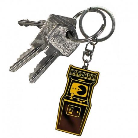 PAC-MAN ® - Llavero metálico (Licencia Oficial de Pac-Man)