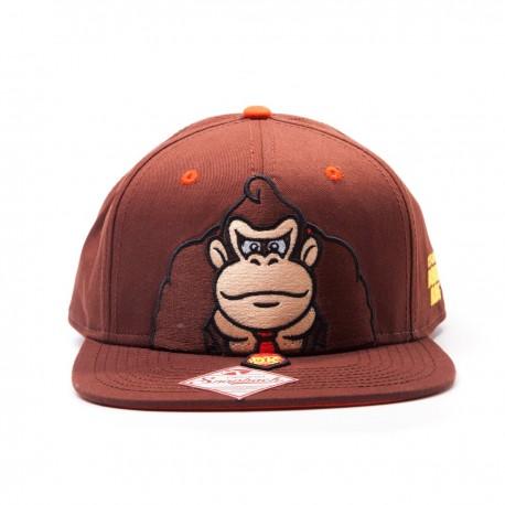 Nintendo Snap Back Baseball Cap Donkey Kong