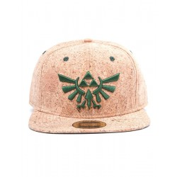 Gorra The Legend of Zelda | Gorra Snap Back Triforce Logo Cork