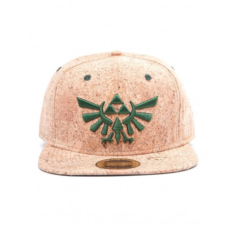 The Legend of Zelda - Gorra Snap Back Triforce Logo Cork