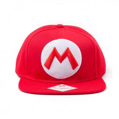 Gorra Mario | Nintendo Gorra Béisbol M Logo
