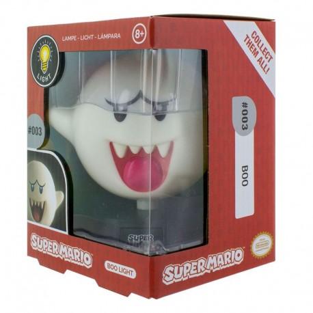 Super Mario lámpara 3D Boo 10 cm