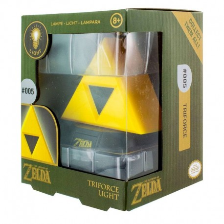 Legend of Zelda lámpara 3D Triforce 10 cm
