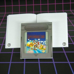 NINTENDO - Bloc de notas / Gameboy Cartridge Notebook