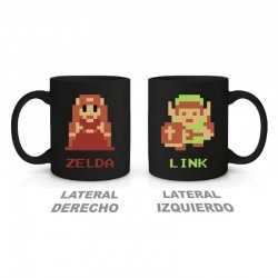 Taza 8Bit de The Legend Of Zelda ®