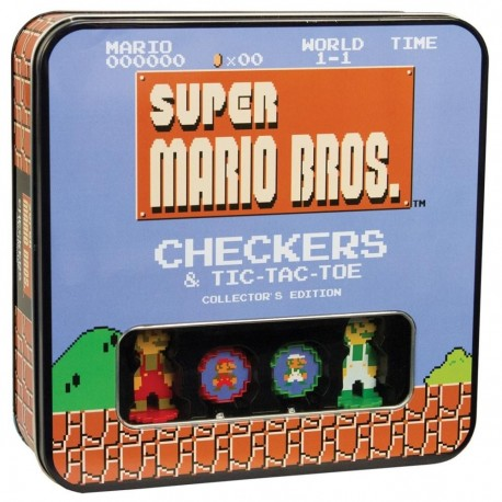 Juego de Mesa 'Damas' Collector's Edition - Super Mario Bros.