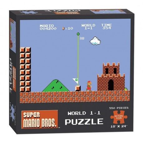 Super Mario Bros. Puzzle World 1-1