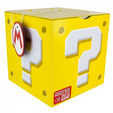 Hucha de Super Mario - Question Block MoneyBox