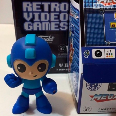 Mega Man (Retro Gaming - Mini figura Funko)