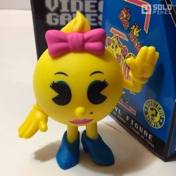 Figura Ms PAC- MAN Retro Gaming Mini Funko ®