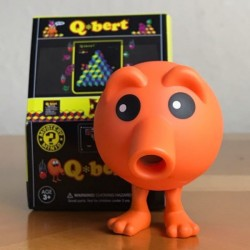 Figura Q*bert Retro Gaming Mini Funko ®