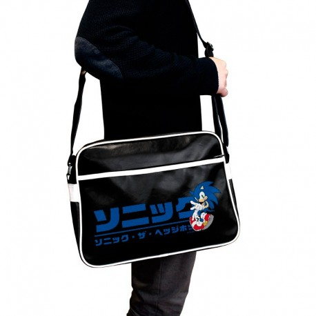 "SONIC - Bolso ""Messenger"" (Logo Japonés)"
