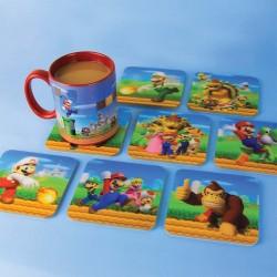Posavasos de Super Mario Bros. ® Efecto 3D