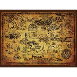 Puzzle de The Legend of Zelda ® Hyrule Mapa