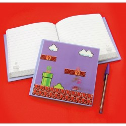 Libreta 3D Mario Bros Level (Holograma)