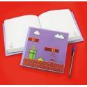 Libreta cuaderno 3D Mario Bros Level ®