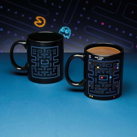 Pac-Man Taza sensitiva al calor