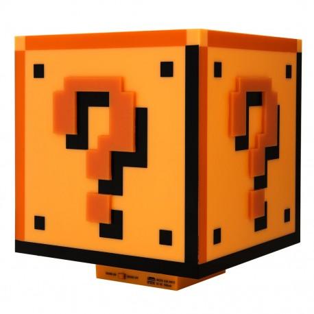 Lámpara - Nintendo Super Mario Question Block