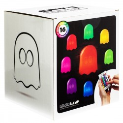 Lámpara Led Fantasma de 16 colores PAC-MAN ®
