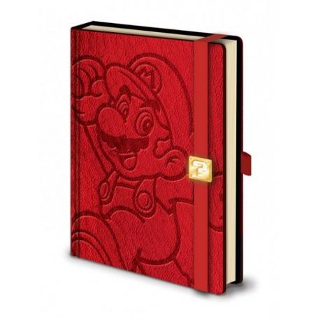 Libreta Premium A5 - Super Mario
