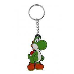 Llavero de caucho 'Yoshi' (Nintendo)