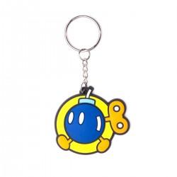 Llavero de caucho 'Bob-Omb' oficial de Nintendo ®
