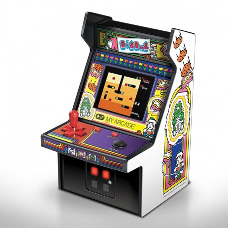 Consola Micro Player Retro Arcade Dig Dug