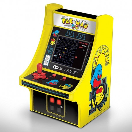 Consola Micro Player Retro Arcade Pac-Man