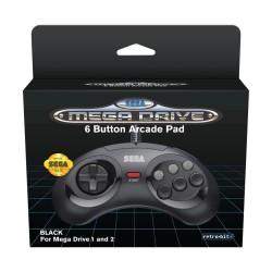 Mando de 6 botones negro ® SEGA Mega Drive Mini